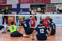Russian Men's and Women's National Teams won European Sitting Volleyball Championships