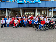RUSSIAN NATIONAL PHYSICAL IMPAIRMENT POWERLIFTING TEAM ARRIVED TO KAZAHSTAN FOR THE WORLD CHAMPIONSHIPS