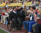World Games of the sports federation of wheelchairs and amputees IWAS 2015 was solemnly opened in Sochi!