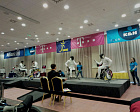 IWAS WHEELCHAIR FENCING WORLD CUP IN EGER, HUNGARY