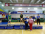 In the Republic of Mordovia the National Table Tennis Championship and National Junior Table Tennis Championship among persons with intellectual disabilities were finalized