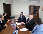 Dimitrije Lazarovski, IPC Head of Snow Sports, visited RPC headquarter
