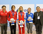 Russian para swimmers successfully took part in Singapore