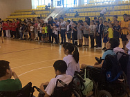 "Republican youth sports games ""Uralan"" among persons with physical impairments were held in Elista"