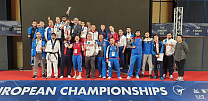 The Russian National Para Taekwondo Team won 5 gold, 4 silver and 6 bronze medals at European Championships in Italy.
