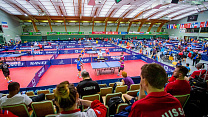 The Russian National Table Tennis Team for persons with physical impairmrnts and intelectual disabilities will participate at the World Championship in Slovenia