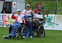 RUSSIAN NATIONAL WHEELCHAIR PARA-ARCHERY TEAM WINS AT THE 2ND ROUND OF EUROPEAN CUP IN CZECH REPUBLIC