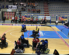 IWAS Executive Committee members participated at the Opening Ceremony of the Powerchair Hockey World Championship.